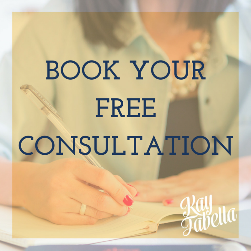 Book a Free Consultation with Kay Fabella