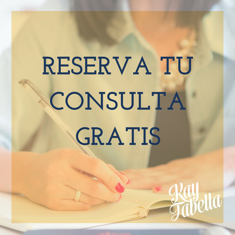 Reserva tu Consulta Gratis con Kay Fabella